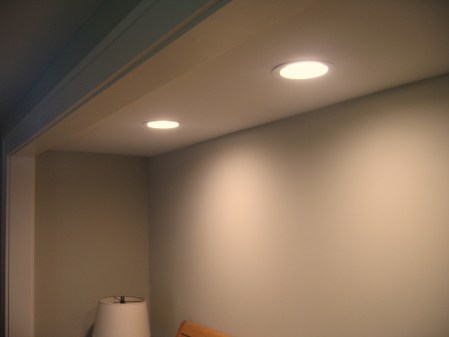 Led recessed can fixture greentex builders photo aloadofball Gallery